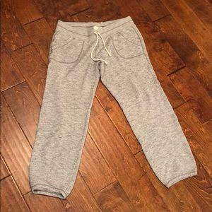 Pants - Aerie heather grey joggers women's size Large NWOT